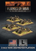 Flames of War: Late War: United States: 3 inch Towed Tank Destroyer Platoon (UBX80)