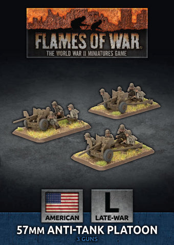 Flames of War: Late War: United States: 57mm Anti-Tank Platoon (UBX81)