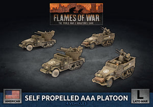 Flames of War: Late War: United States: Self Propelled M15/M16 GMC AAA Platoon (UBX83)