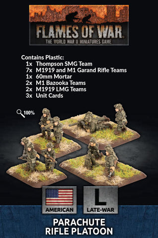 Flames of War: Late War: United States: Parachute Rifle Platoon (US792)