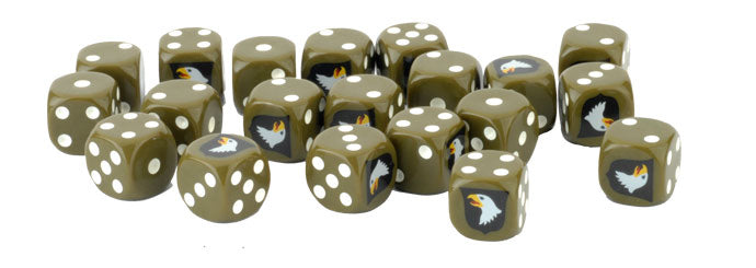 Flames of War: Late War: United States: 101st Airborne Division Dice (US908)