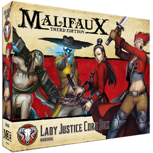 Malifaux: Guild Lady Justice Core Box (23104)