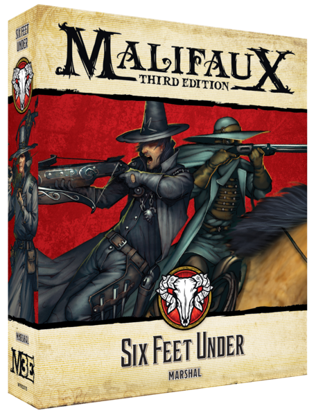 Malifaux: Guild Six Feet Under (23115)