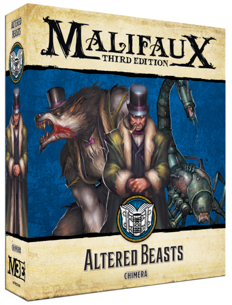 Malifaux: Arcanists Altered Beasts (23308)