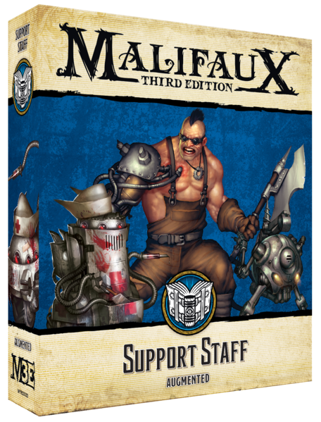 Malifaux: Arcanists Support Staff (23322)