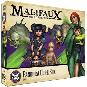 Malifaux: Neverborn Pandora Core Box (23407)