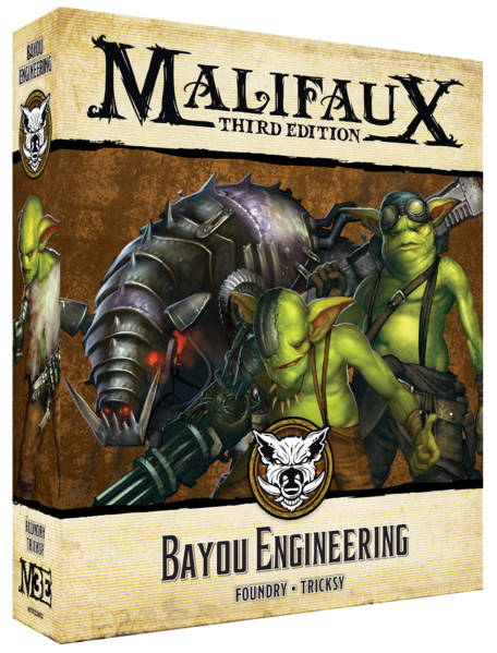 Malifaux: Bayou Bayou Engineering (23613)