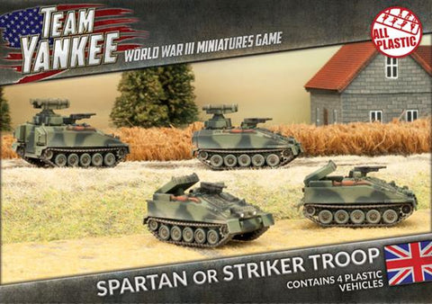 Team Yankee: British: Spartan, Striker Troop (TABX04)