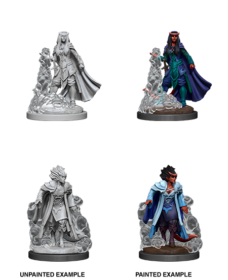 Nozler's Marvelous Miniatures: Female Tiefling Sorcerer (90059)
