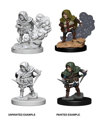 Nolzur's Marvelous Miniatures: Halfling Male Rogue (72626)