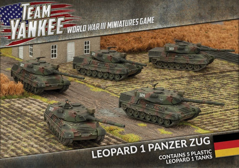 Team Yankee: West German: Leopard I Panzer Zug (TGBX14)