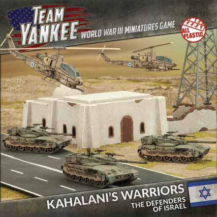 Team Yankee: Oil War: Israel: Kahalani's Warriors (TISAB01)