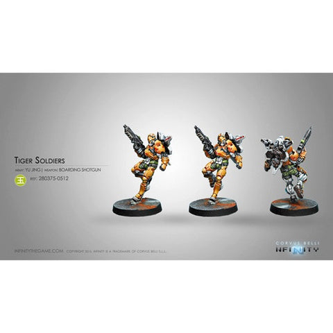 Infinity: Yu Jing Tiger Soldiers (Boarding Shotgun)NEW