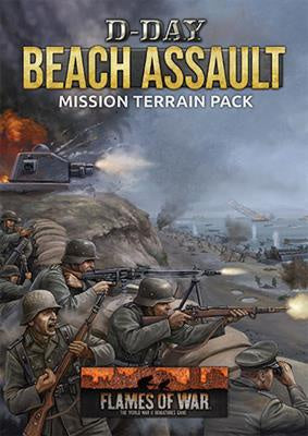 Flames of War: Late War: D-Day: Beach Assault Mission Terrain Pack (FW262A)