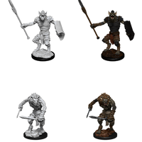 Nozler's Marvelous Miniatures: Gnoll and Gnoll Flesh Gnawer (90066)