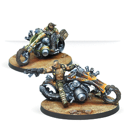 Infinity: Haqqislam Kum Motorized Troops