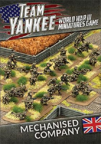 Team Yankee: British: Mechanized Company (TBBX10)