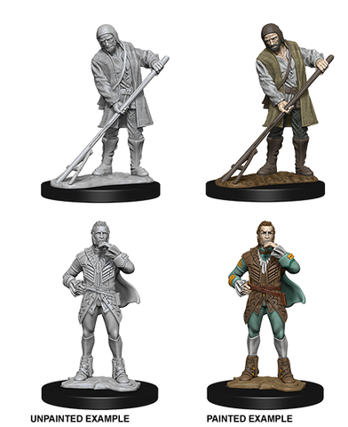 Pathfinder Battles Deep Cuts Miniatures: Towns People (72585)