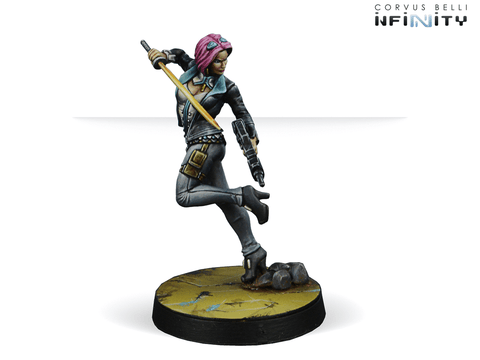 Infinity: Mercenaries Miranda Ashcroft , Authorized Bounty Hunter (Combi Rifle)