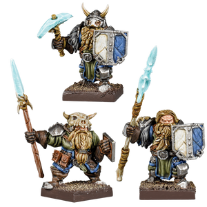 Kings of War Vanguard: Northern Alliance Dwarf Clansmen Reinforcements