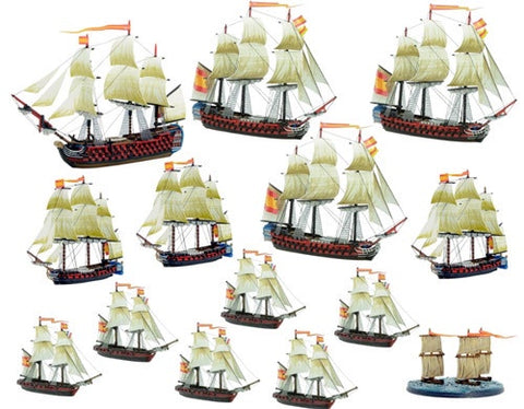 Black Seas: Spanish Navy Fleet