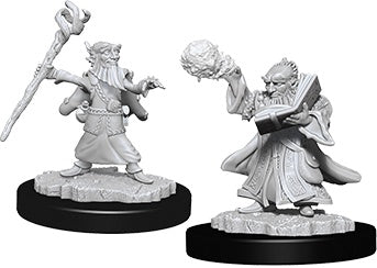 Nolzur's Marvelous Unpainted Miniatures: Male Gnome Wizard (73382)