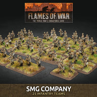 Flames of War Late War: Soviet SMG Company (SBX80)