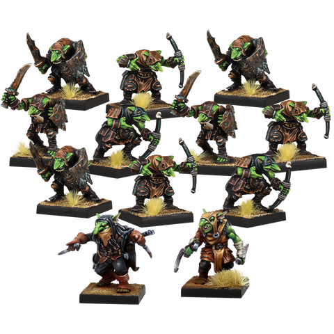 Kings of War Vanguard: Goblin Warband Set