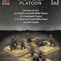 Flames of War: Mid War: German: Plastic Grenadier Platoon (GE756)