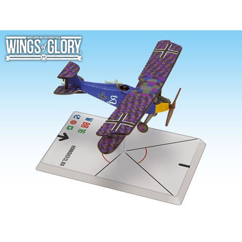 Wings of Glory: Macchi M.5 - Hannover CI.IIIA (Luftstreitkrafte)