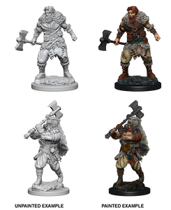 Nolzur's Marvelous Miniatures: Barbarian Male (72643)