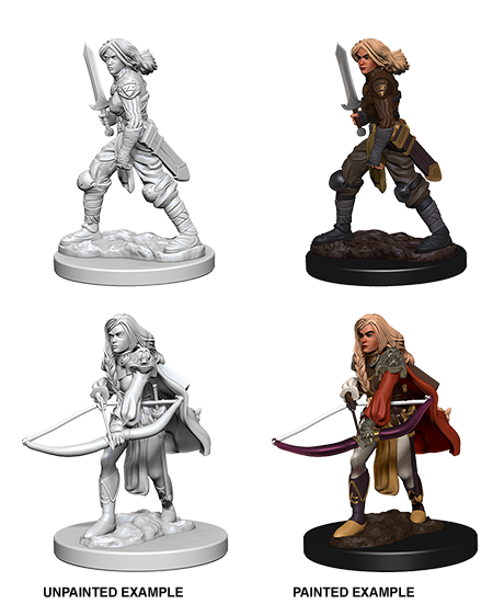 Nolzur's Marvelous Miniatures: Human Female Fighter (72597)