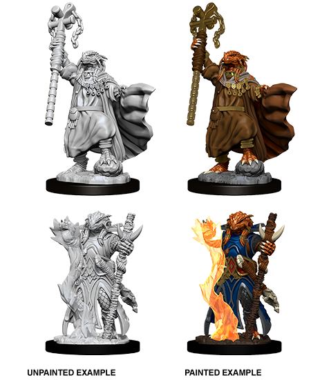 Nolzur's Marvelous Miniatures: Dragonborn Female Sorcerer (73674)