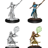 Nozler's Marvelous Miniatures: Female Elf Sorcerer (90054)