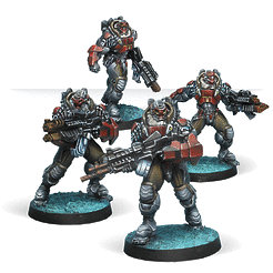Infinity: Combined Army Yaogat Strike Infantry (4)