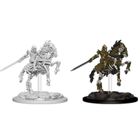 Pathfinder Battles Deep Cuts Miniatures: Skeleton Knight on Horse (73359)