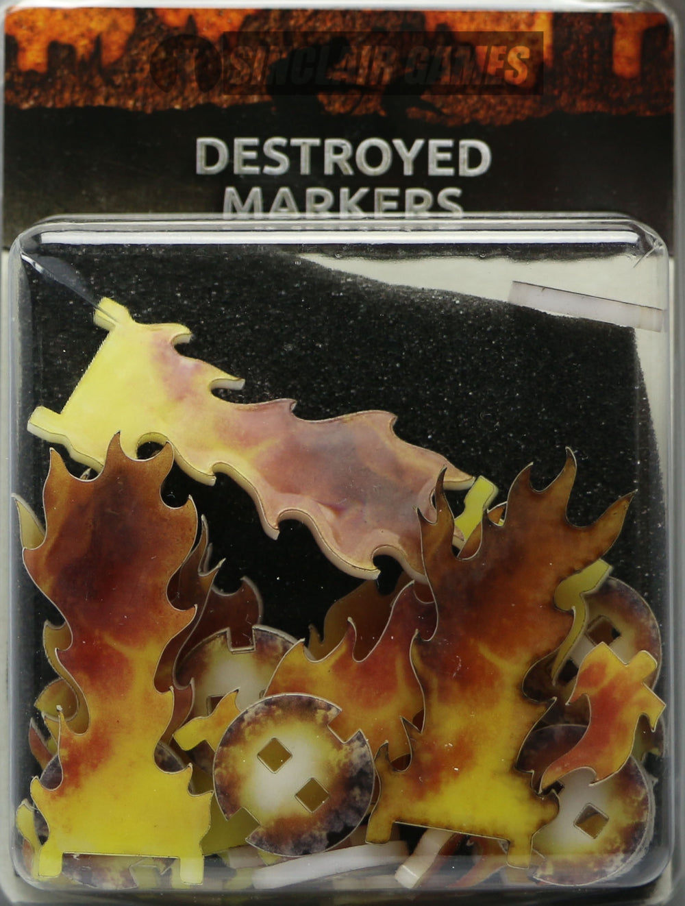 Flames of War: Destroyed Markers (AT005)