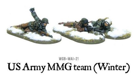 Bolt Action: United States: Winter MMG Team Prone