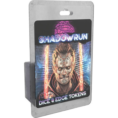Shadowrun RPG 6th Edition: Dice and Edge Tokens