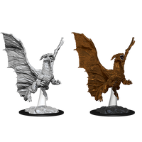 Nolzur's Marvelous Miniatures: Young Copper Dragon (73685)