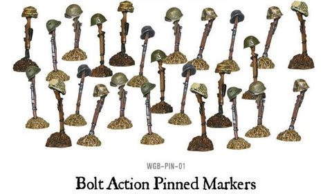 Bolt Action: Pinned Markers