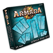Kings of War Armada: Acrylic Base Set