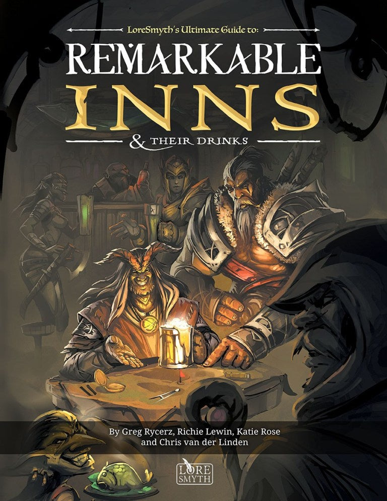 Remarkable Inns and Their Drinks Hardcover