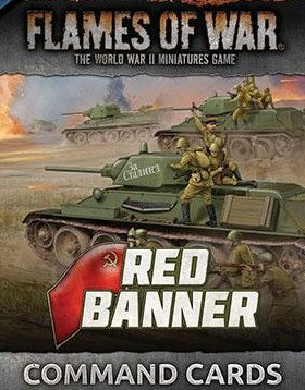 Flames of War: Mid War: Soviet: Red Banner Command Cards (FW250C)