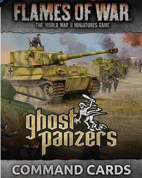 Flames of War: Mid War: German: Ghost Panzers Command Cards (FW251C)