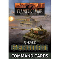 Flames of War: Late War: German: D-Day Command Cards (FW263C)