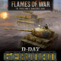 Flames of War: Late War: German: D-Day Unit Cards (FW263U)