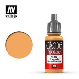 Vallejo Game Color: Bronze Fleshtone (72036)