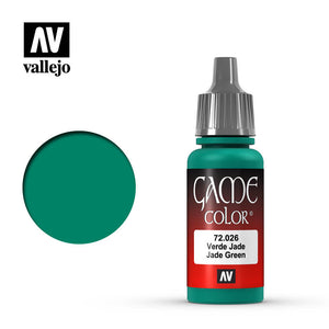 Vallejo Game Color: Jade Green (72026)