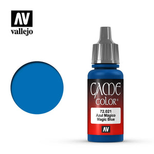 Vallejo Game Color: Magic Blue (72021)